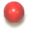 Wooden Bead Round 12mm Red
